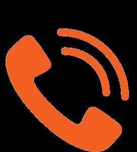 logo representing a phone ringing