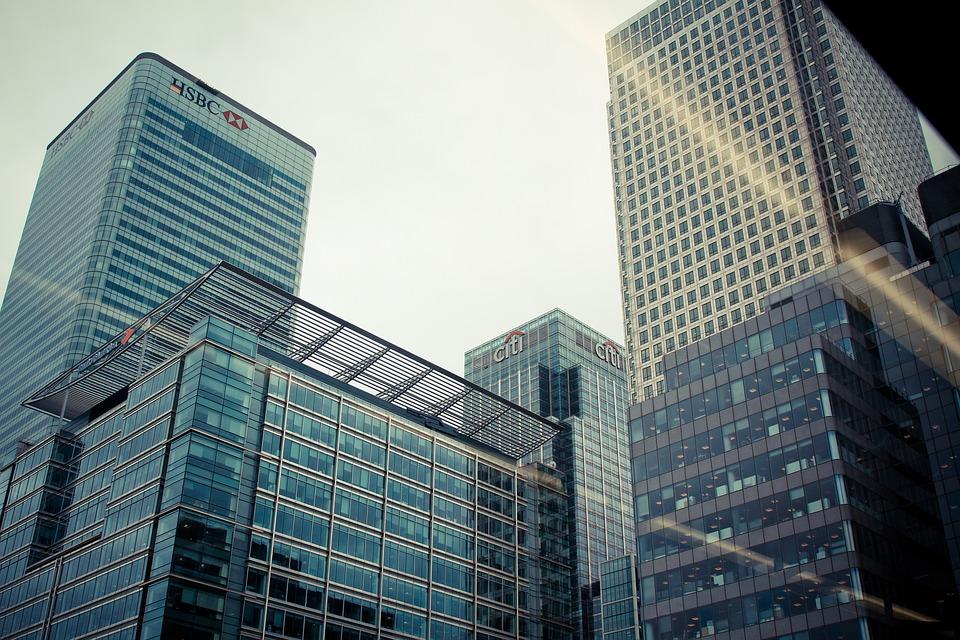 massive buildings in Hong Kong