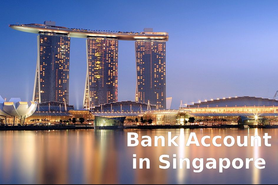 bank account in Singapore